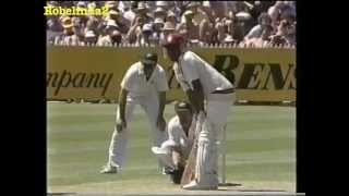 1984/85 4th test Australia vs West Indies MELBOURNE highlights