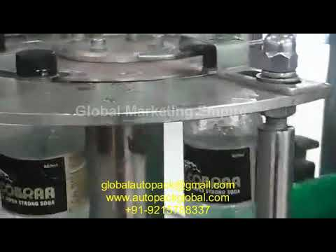 Automatic Bottling Machines For Carbonated Drinks