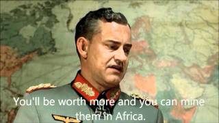 Hitler plans to turn himself into solid gold
