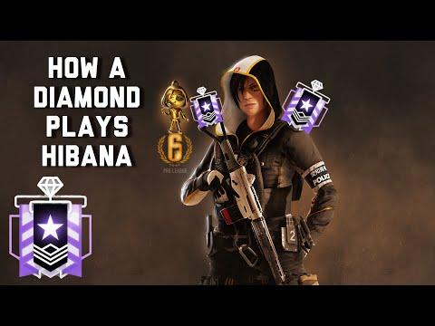 HOW A DIAMOND PLAYS HIBANA W/ THE BEST ATTACHMENTS - Rainbow Six Siege Console Diamond