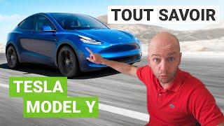Tesla Model Y : TOUT ce qu'il faut SAVOIR