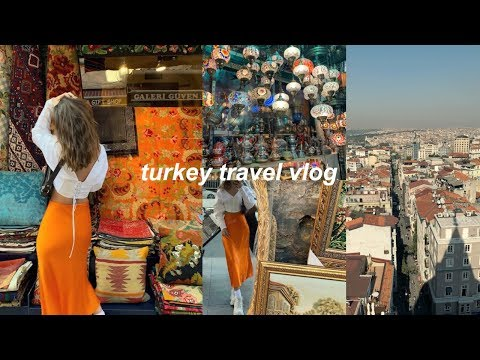 TURKEY VLOG | grand bazaar, the blue mosque, galata tower, + more!