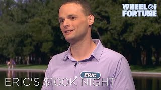 Video thumbnail for Eric's $100,000 Win