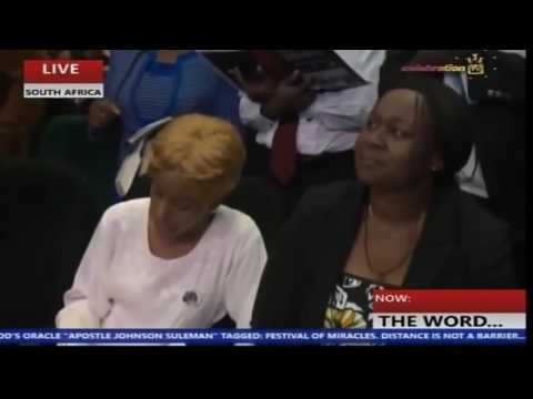 SOUTH AFRICA FESTIVAL OF MIRACLES WITH APOSTLE JOHNSON SULEMAN DAY 2 MORNING