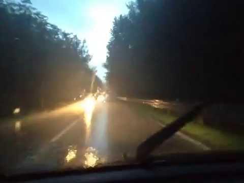 Il temporale sulla strada Vergiate – Somma Lombardo