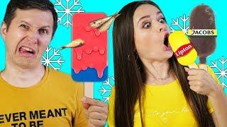 Попробуй не ОТРАВИСЬ! 8 безумных видов мороженого! Заморозили все, что было в доме 🐞 Эльфинка