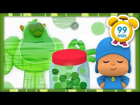 😇 POCOYÓ y El Monstruo de Colores: La Calma [99 min] CARICATURAS y DIBUJOS ANIMADOS para niños