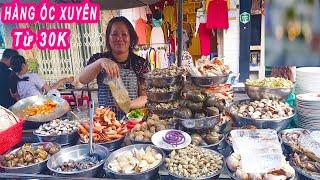 Phát thèm với Hàng Ốc Xuyên 20 năm nổi tiếng Chợ Bàn Cờ Sài Gòn