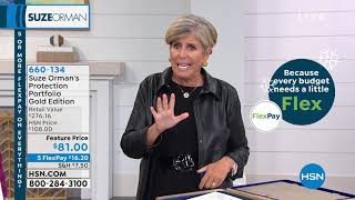 HSN | Suze Orman Financial Solutions for You 09.29.2019 - 01 AM
