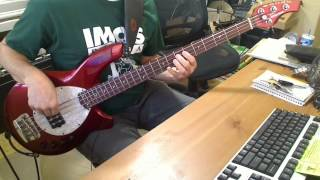 Descendents - Here With Me Bass Cover