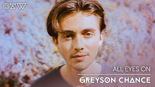 """Greyson Chance   """"shut Up"""" [Live + Interview]   All Eyes On"""