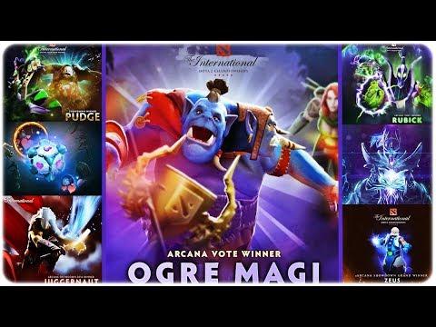 Dota 2 The International Arcana Winners History   TI9 Winner Ogre Magi