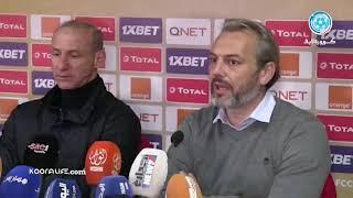 """ديسابر:"""" الأهداف المبكرة ساعدتنا كثيراً.. و مدرب اتحاد العاصمة:"""" لم نجد حلولاً أمام هجوم الوداد"""""""