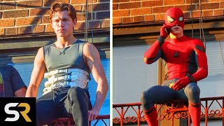How Tom Holland Trains For His Spiderman Stunts by Screen Rant