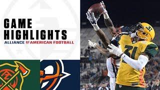 Arizona Hotshots vs. Orlando Apollos | AAF Week 6 Game Highlights