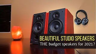 Edifier R1700BT Speaker Review and Sound Demo [Should you buy these BUDGET studio speakers in 2021?]