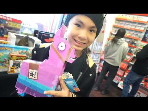 Tristan Creative Is Back We Found Fortnite Toys At Gamestop
