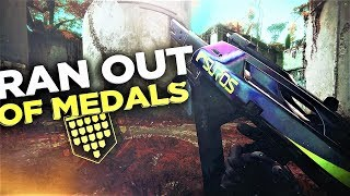 THE FOGGY NOTION SMG (We Ran Out Of Medals) Destiny 2
