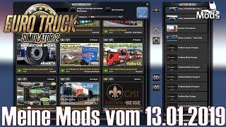 ETS2 V1.33 I Mod ▶️ Meine Mods Vom 13.01.2019 [Deutsch]