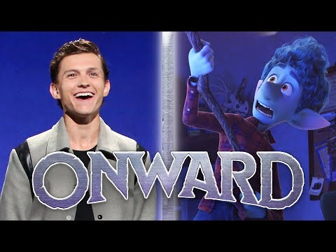 Tom Holland Reveals NEW Pixar's Onward Footage (D23 Expo 2019)