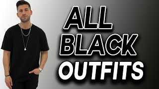 All Black Outfits | 5 Einfache Looks  | Kosta Williams