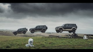 YouTube Video u7Oc4g_CtZc for Product Land Rover Defender (L663) by Company Land Rover in Industry Cars