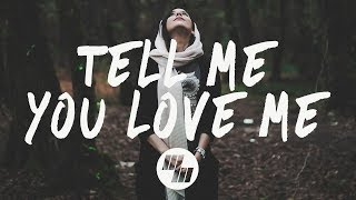 Demi Lovato   Tell Me You Love Me (Lyrics  Lyric Video) NOTD Remix