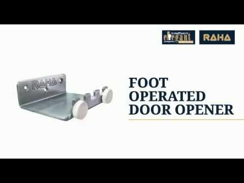 Foot Operated Door Opening Bracket For Handle Less Door Opening