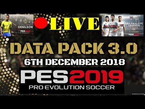 data pack 3 0 pes 2019