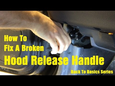 Replacing A Hood Release Cable - Wrenchin' Up Back To Basics