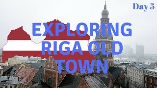 Full Day in Riga Old Town -  Latvia - Daily Vlog - Day 5