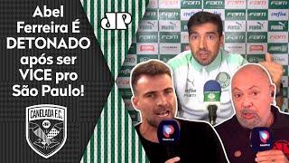 'O Abel Ferreira é um arrogante, covarde'; técnico do Palmeiras é detonado após vice