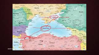 (Maps) Black Sea, Azov Sea, Bosporus Strait, Strait of Kerch, Dardenelles