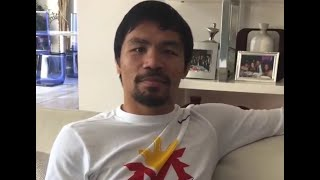 Manny Pacquiao Turns Down Gennady Golovkin Fight; I'm To Small He's Too Big