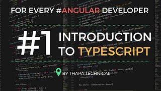 Typescript Tutorial for Beginners in Hindi #1: What is Typescript | Introduction to Typescript Hindi
