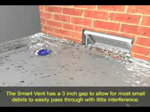 See the SmartVent protect a home from a flood surge that could damage a home or even knock it off its foundation.