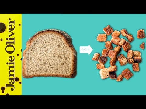 How To Make Croutons | 1 Minute Tips | French Guy Cooking