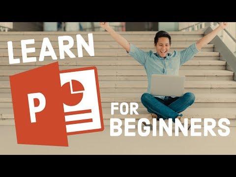 Learn PowerPoint  – 2018 Beginners Tutorial