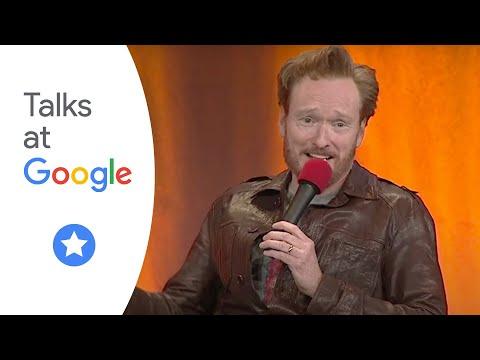 Conan na besedě se zaměstnanci Googlu