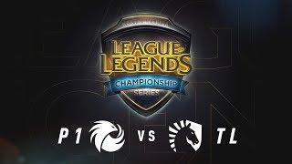 P1 vs. TL - Week 7 Game 1   NA LCS Summer Split   Phoenix1 vs. Team Liquid (2017)