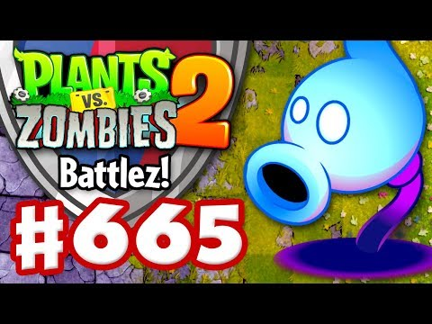 Shadow Peashooter! NEW Plant! Battlez! - Plants vs. Zombies 2 - Gameplay Walkthrough Part 665