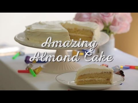 Video Amazing Almond Cake