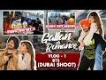 BTS of Gallan Ch Romance | Kay Vee Singh | Ashi Khanna I DUBAI SHOOT | FIGHT ON SET😡| VLOG 01