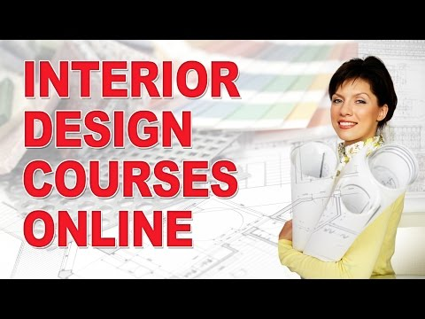 Interior Design Courses - Entirely ONLINE! - YouTube