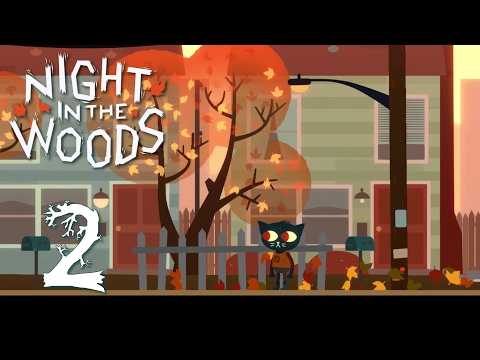 Ep 2 - Home again (Let's play Night in the Woods gameplay) | MTW
