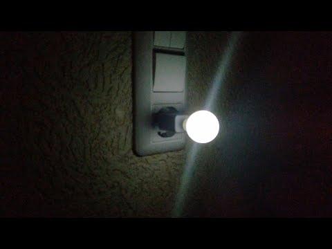 Ночной светильник с функцией задержки выключения своими руками