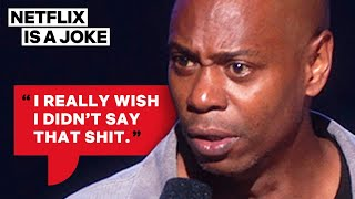 Dave Chappelle Compares Hillary Clinton To Darth Vader   Netflix Is A Joke