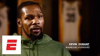Kevin Durant: 'It would be perfect' if we could sweep the Cavaliers in the NBA Finals | ESPN