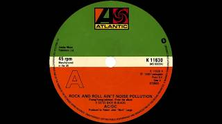 AC / DC - Rock 'n' roll ain't noise pollution (instrumental cover)