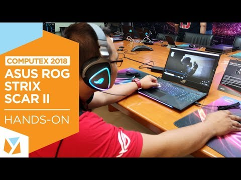 ASUS ROG Strix II and Hero II Laptop Hands-on: Computex 2018